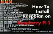 Cómo instalar y configurar Raspbian en frambuesa Pi 2 (windows/Linux/mac)