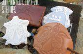 Cómo diseñar, imprimir y usar sellos de cuero estampado 3D!
