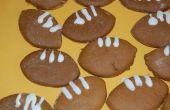 Cómo hacer galletas de fútbol