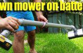 Cómo hacer A mano hierba cortador máquina potente en casa