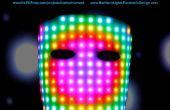 Mascarilla para matriz de LED