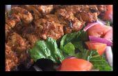 Kebabs de pollo Turco