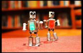 Robots bailando, magnéticas