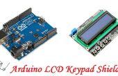 Arduino teclado LCD protector