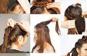 Tres clases de peinado