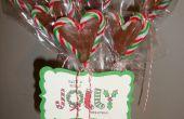 Bastón de caramelo Chocolate corazón Pops!