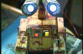 WALL-E de papel con LED