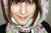 Cómo coser una bufanda con capucha o scoodie!