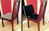 Oculto compartimiento silla