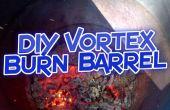 DIY sencillo barril quema Vortex