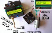 Medida de RPM - tacómetro óptico