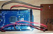 Arduino Mega 2560 basado Control de intensidad de luz LDR