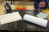 Cómo teñir a tela con papel de seda (lo hice en TechShop!)
