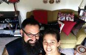 DIY Selfie palo por $3
