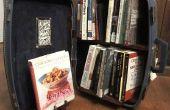 Librería: Librería en una maleta de viaje!