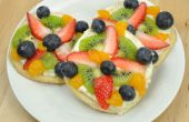 Mini Pizzas de fruta