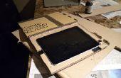 BRICOLAJE piel iPad caso en sitio llano