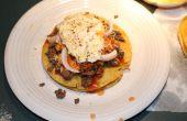 Estilo de Texas Stacked Enchiladas