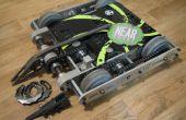 30 libras lucha contra Robot-Nyx