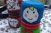 Rusia muñeca de la jerarquización de los frascos