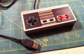 Hacer que un controlador de NES USB