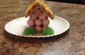 Casa de pan de jengibre galletas Graham