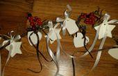 Decoración de la Navidad de bicarbonato de sodio