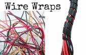 Sujetadores de cable espiral DIY