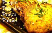 Poppin calabaza langostinos empanadas
