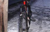 Neumáticos para bicicleta de montaña de hielo