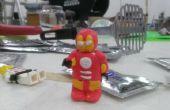 Sugru armadura de hombre de hierro le LEGO minifigura