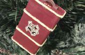 Mini adorno de Hogwarts tronco