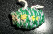 Crochet Alien Fuzzy - colección Creepy Cute Crochet