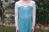 Vestido Elsa congelada