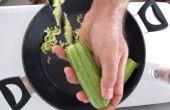 Cocina herramientas: Zucchinnis relleno
