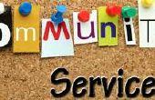 Planificación A gran escala de proyecto de servicio comunitario