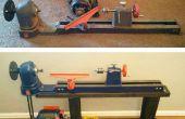 Restauración de torno de madera