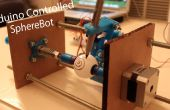 3D impreso Arduino controlado Eggbot/Spherepot