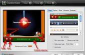 Convertir el vídeo a SWF con la barra de controles del reproductor, controlador o Control en mac OS X