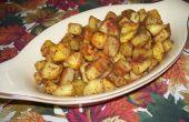 Fritas de patata dulce hogar