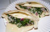 Tabouli jinete Sandwich