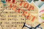Cómo organizar una fiesta de espía