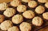 Gluten gratis mantequilla de maní galletas de lino