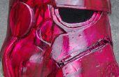 Casco de stormtrooper de StarWars con espuma de eva