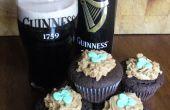 Cupcakes de Guinness