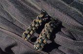 Tirón de la cremallera de paracord: Nudo de la caja