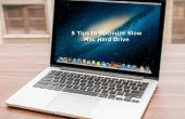 5 Consejos para optimizar el disco duro lento Mac Drive