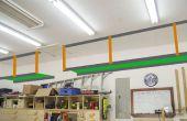 Espacio desperdiciado: Estantes de almacenamiento de garaje alto