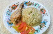 Preparar el delicioso pollo Biryani