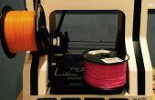 Cambio de filamento de impresora 3D sobre la marcha / multicolor imprime!